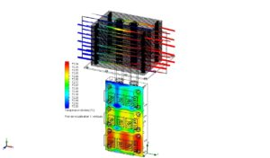 Heat Pipe thermal conductivity simulation